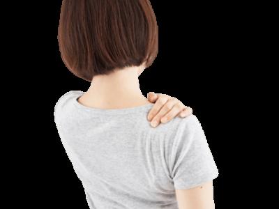 肩こりの女性画像
