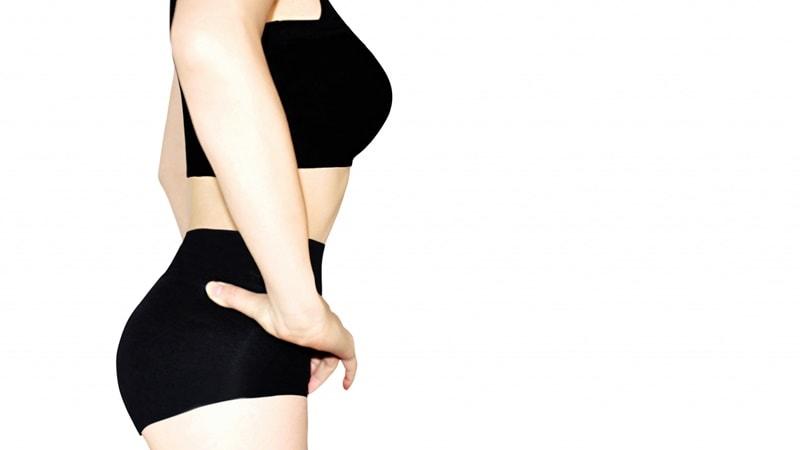 反り腰のモデル